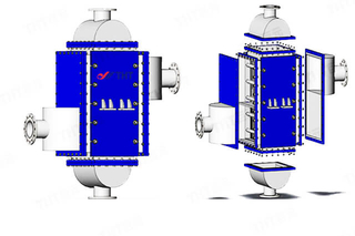 HBL Type Plate And Frame Heat Exchanger