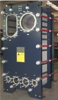 semi-welded plate heat exchanger PHE